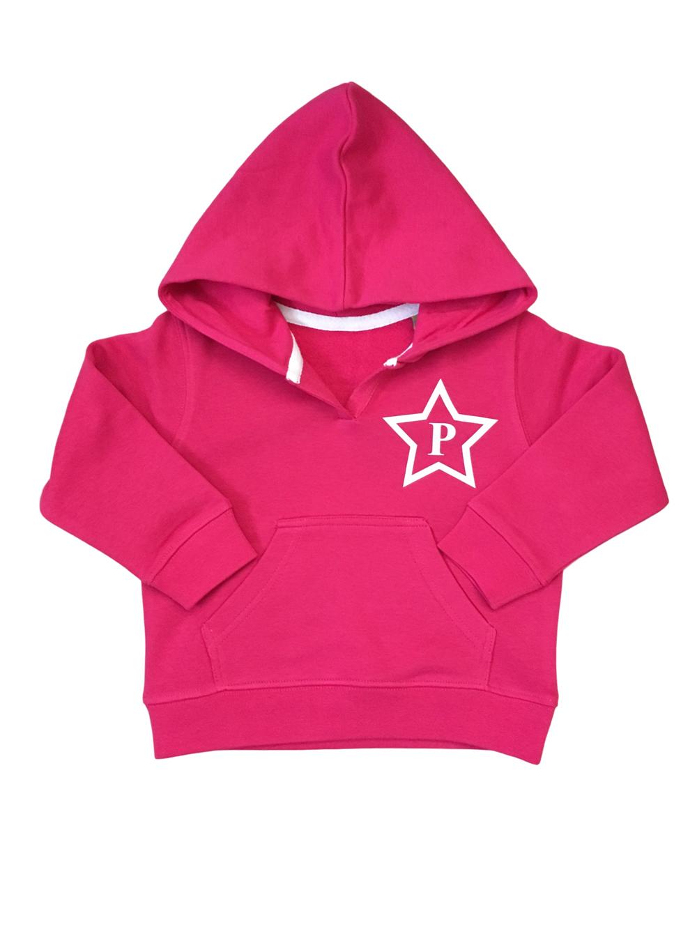 Star Initial Hoodie