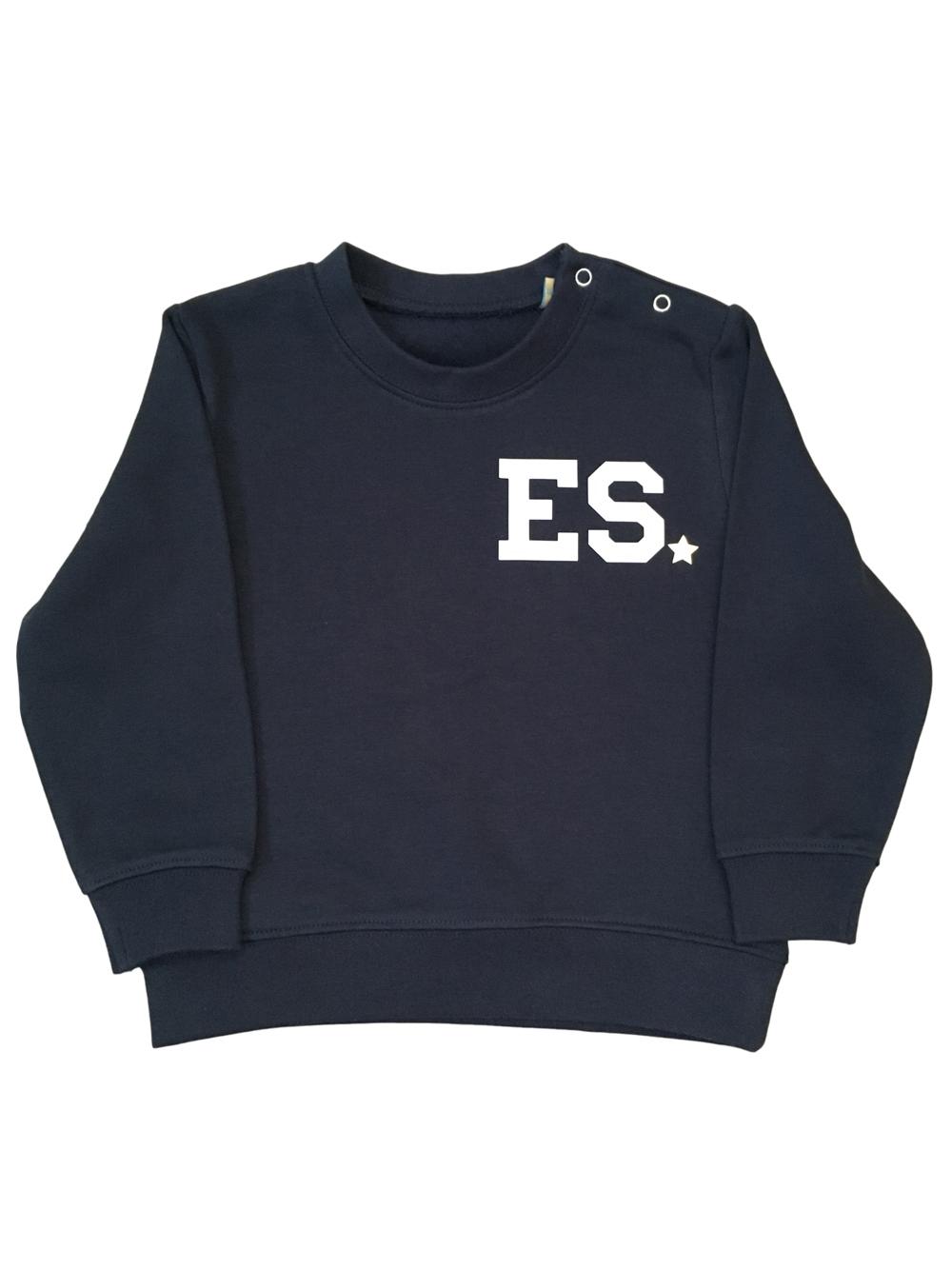 Chunky Initial Sweatshirt