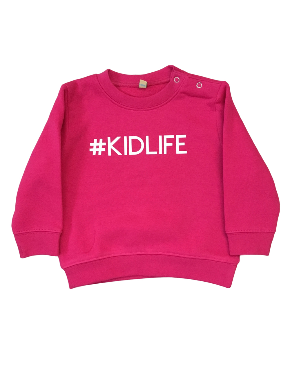 Childrens – Kidlife Pink Sweatshirt 12 – 18 Months