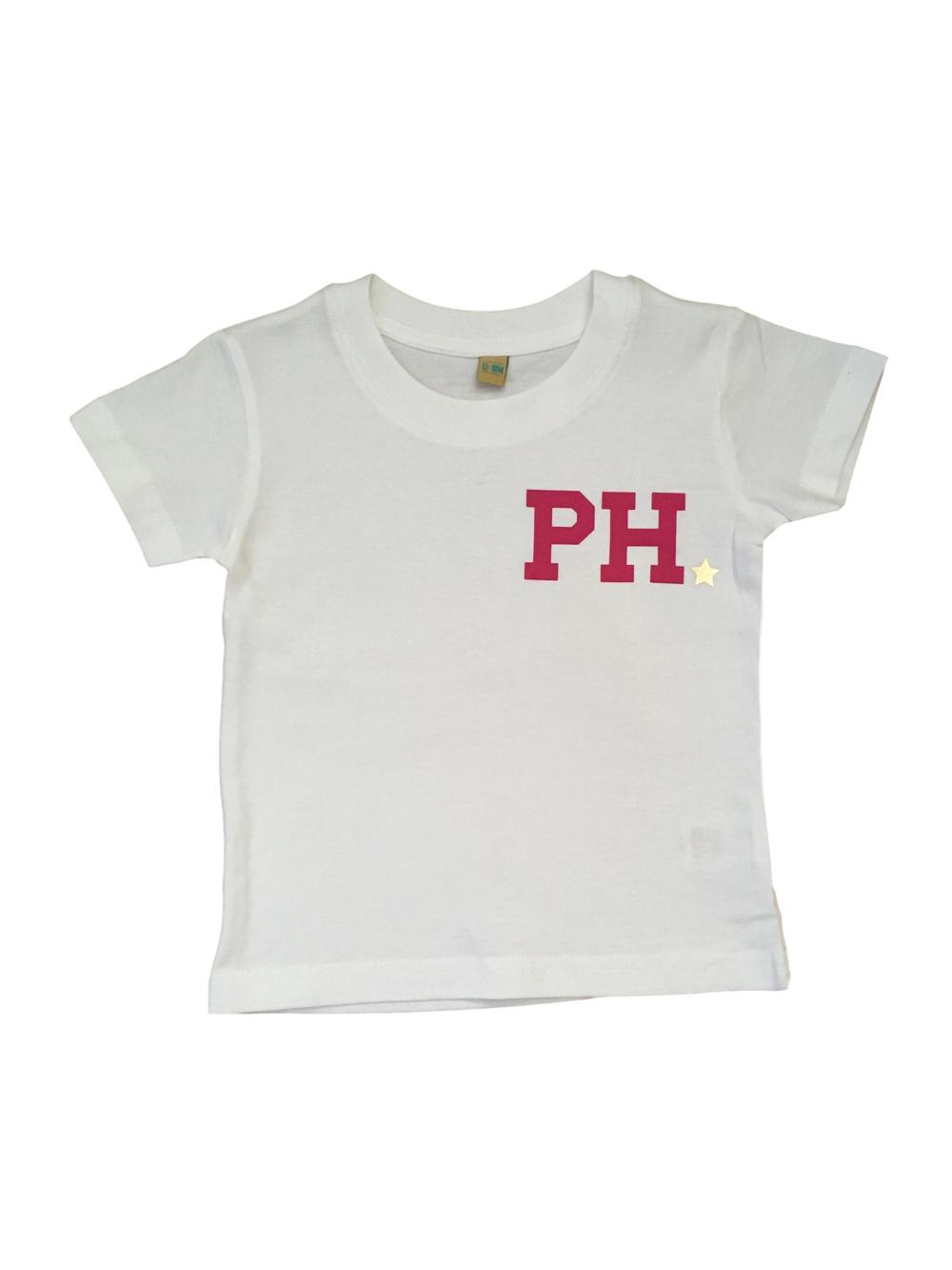 Chunky Initial Tshirt – Girls