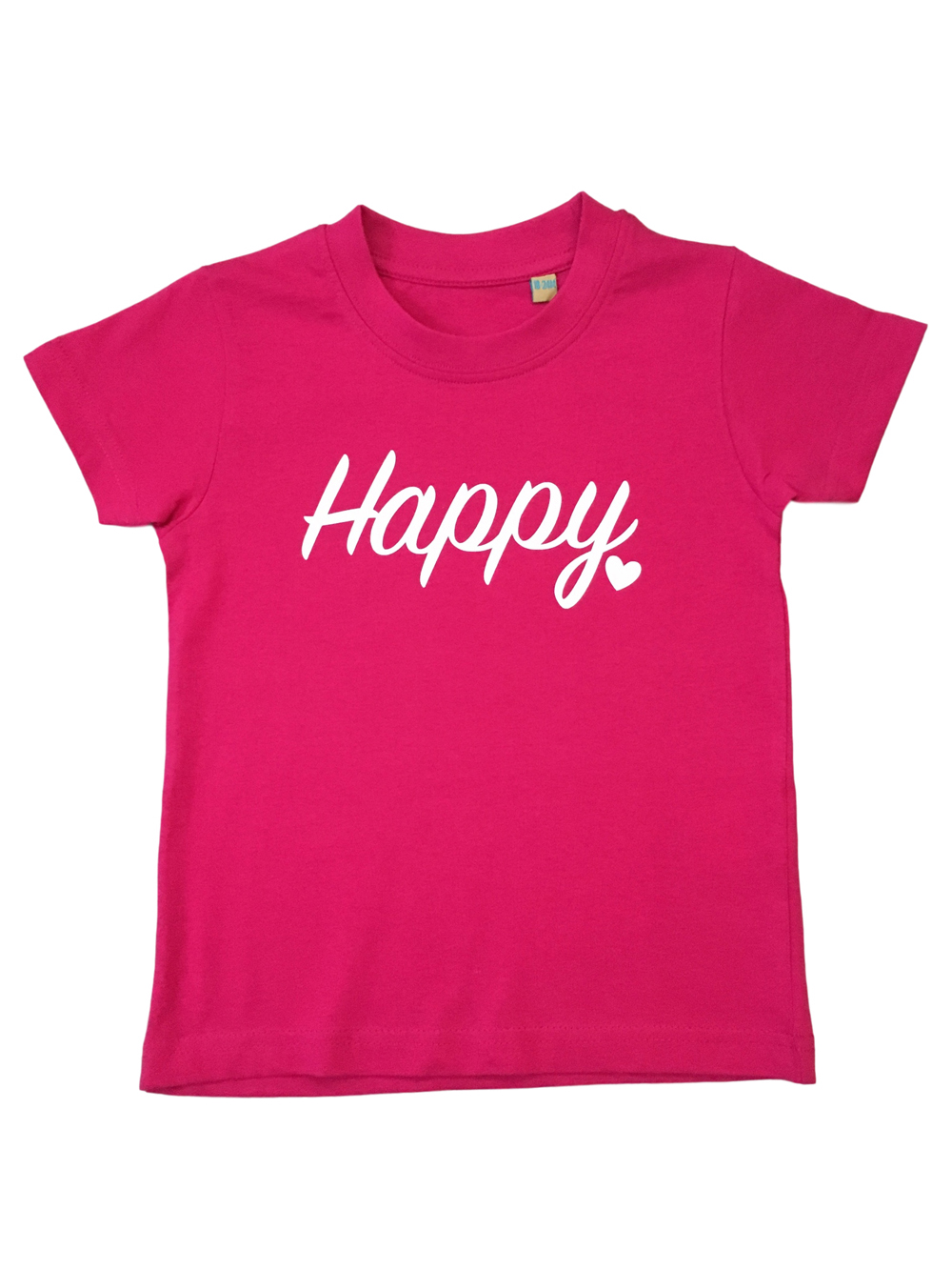 Childrens – Pink Happy T-shirt 18-24 Months