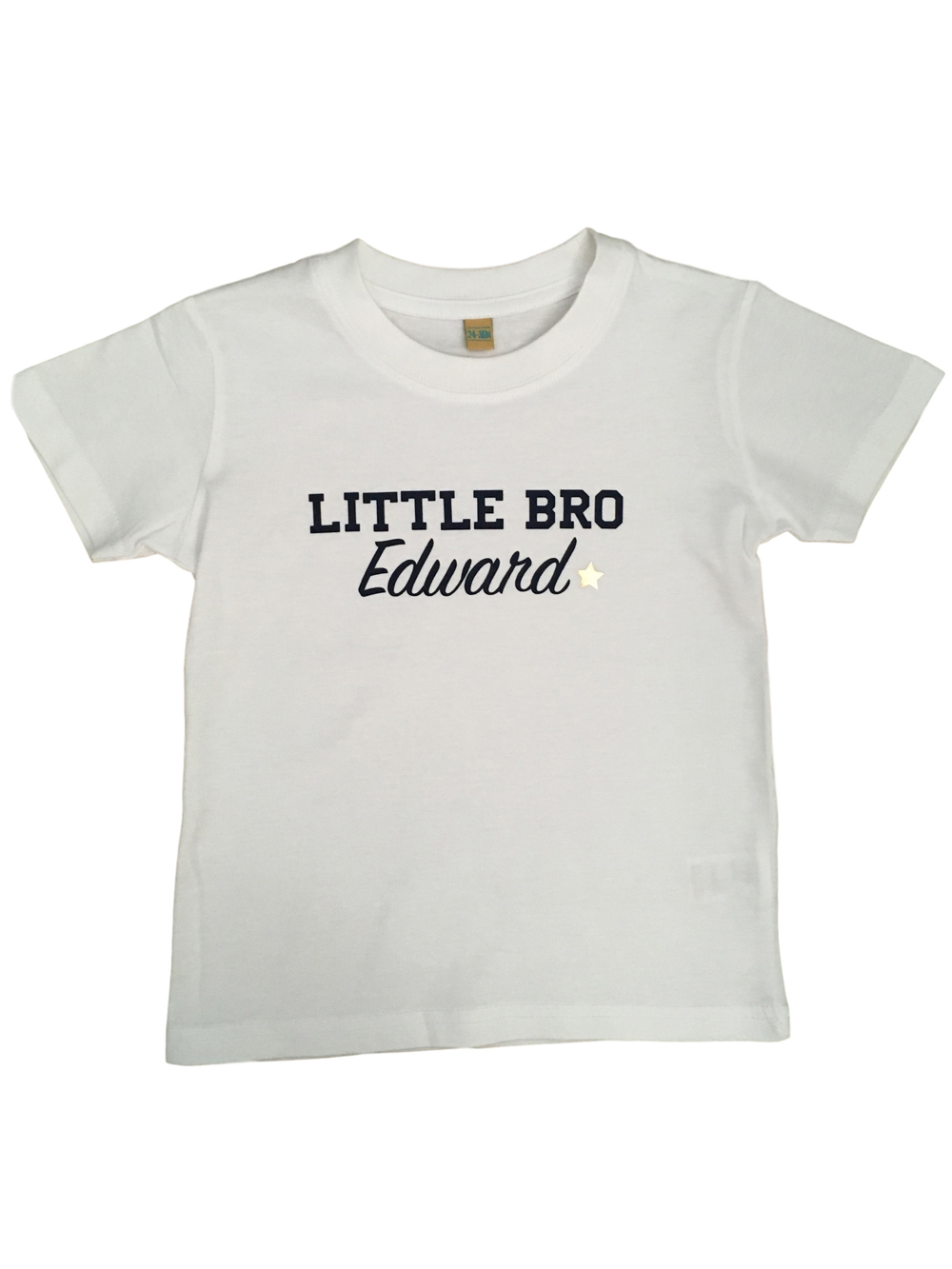 Personalised Little Brother Tshirt
