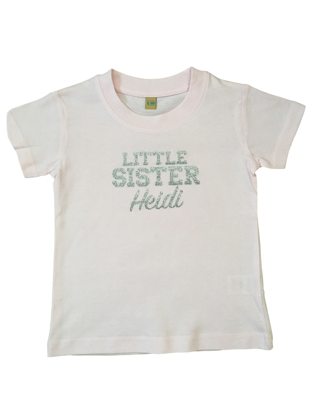 Personalised Little Sister Tshirt