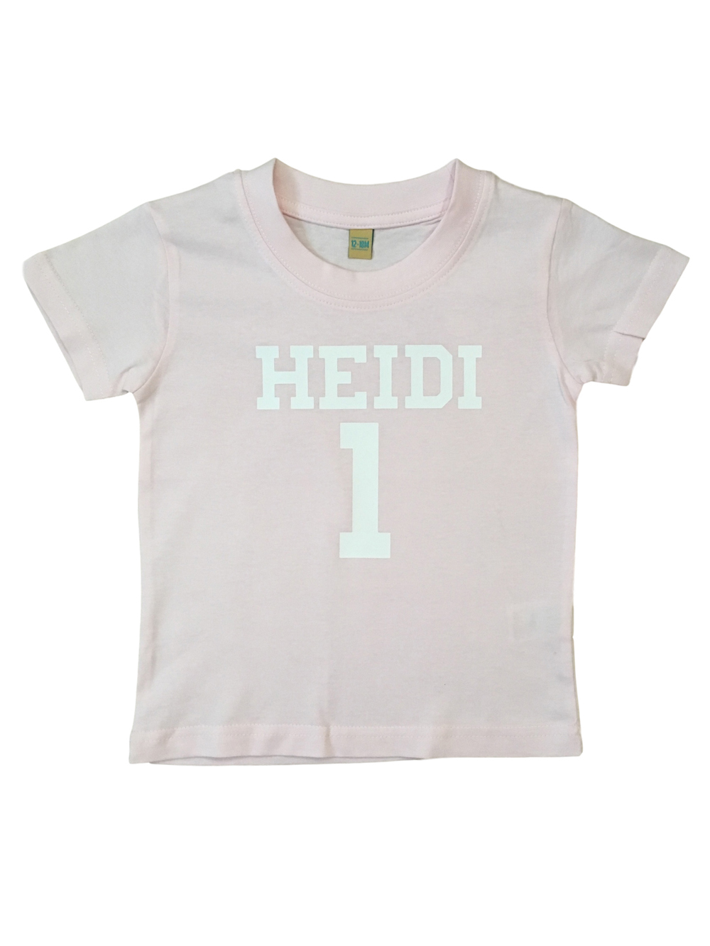 Name And Number Tshirt – Girls