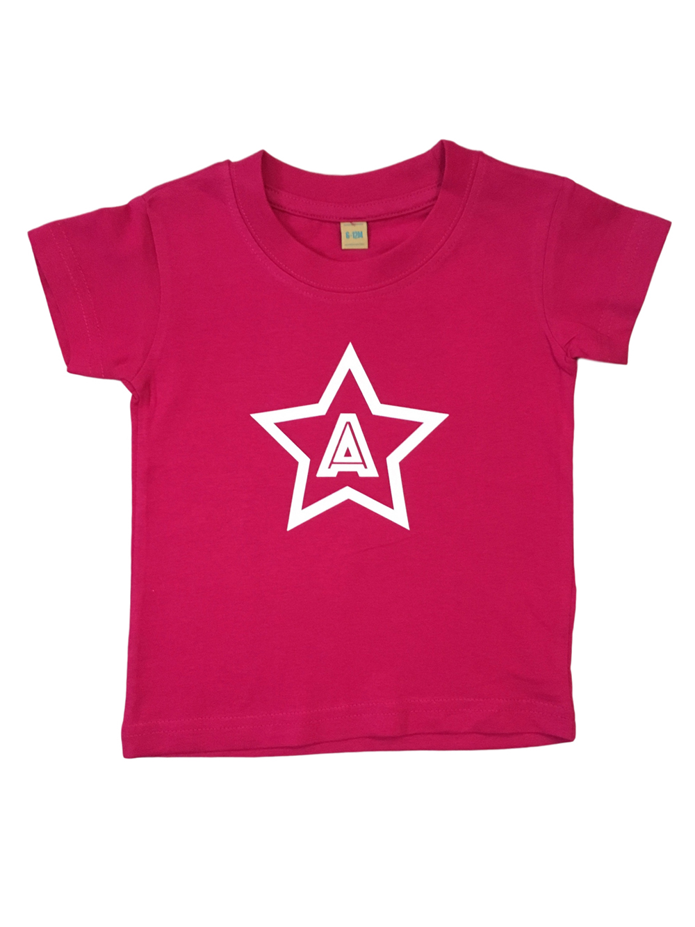 Star Initial Tshirt – Girls
