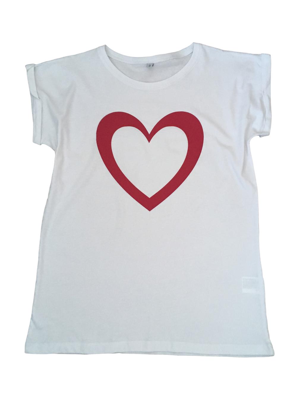 Heart Slouch Tshirt