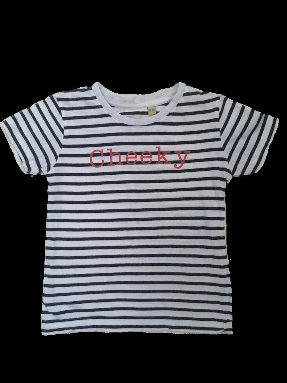 Stripy Childrens Tshirt