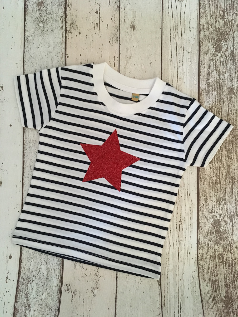 Red Star Stripe T-shirt