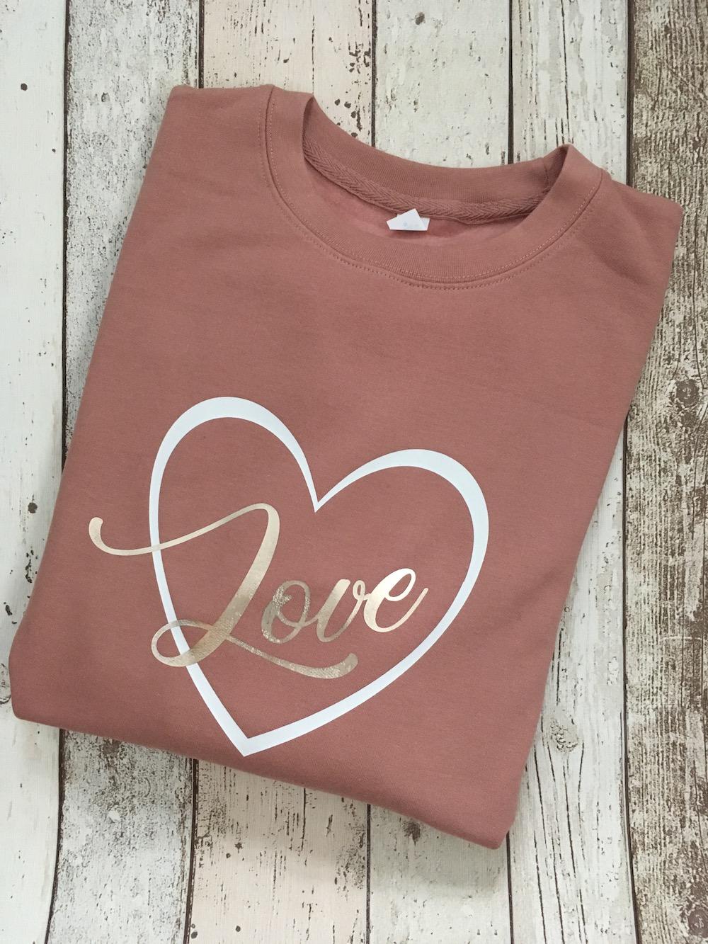 Love Heart Jumper