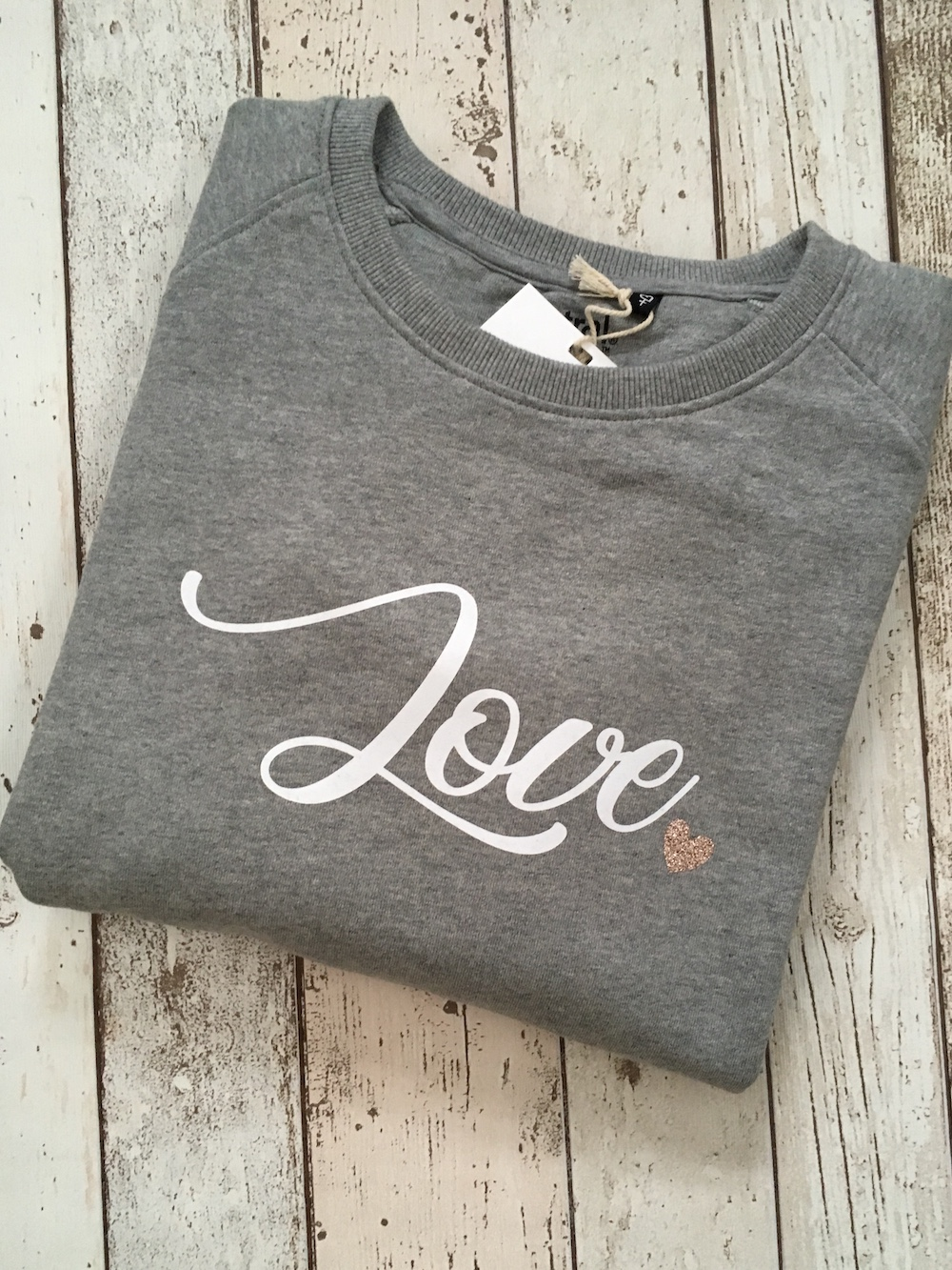 Organic Love Womens Jumper
