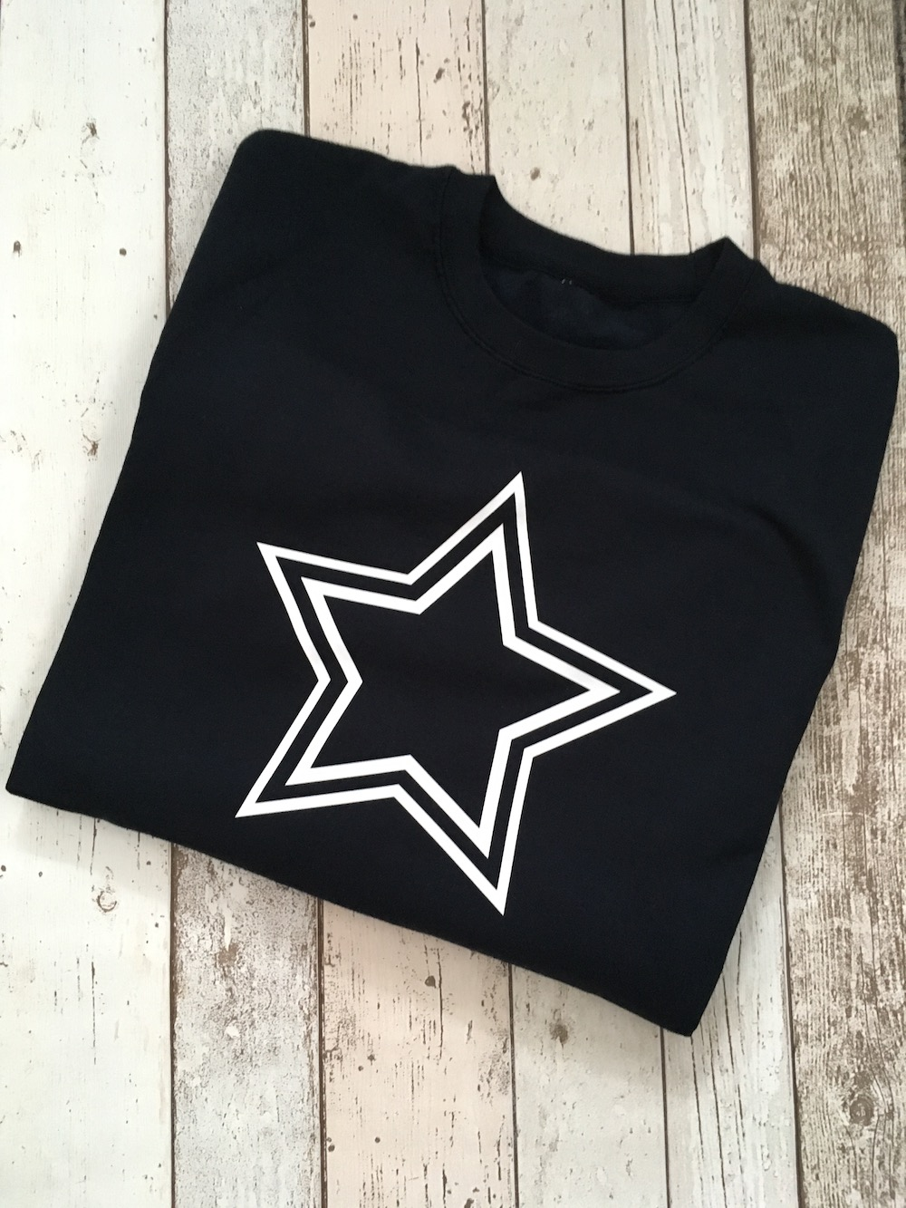 Double Star Lightweight Jumper – Navy