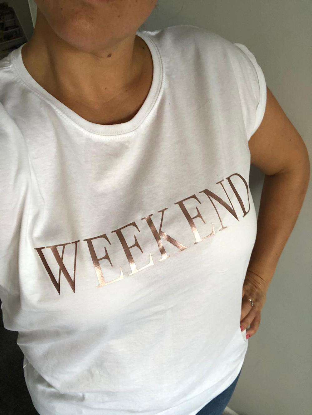 WEEKEND Slouch Tshirt
