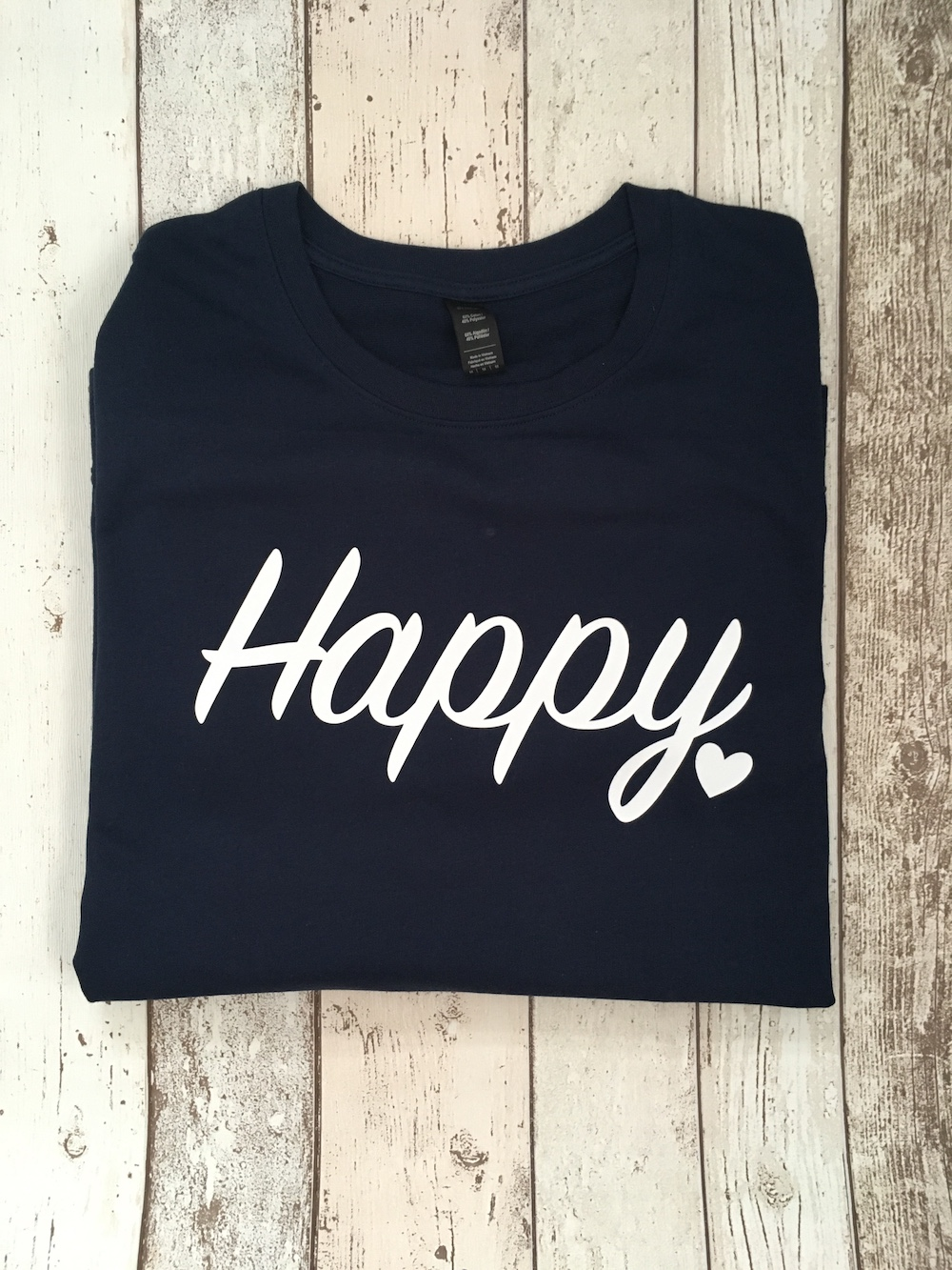 Happy Lightweight Jumper – Navy