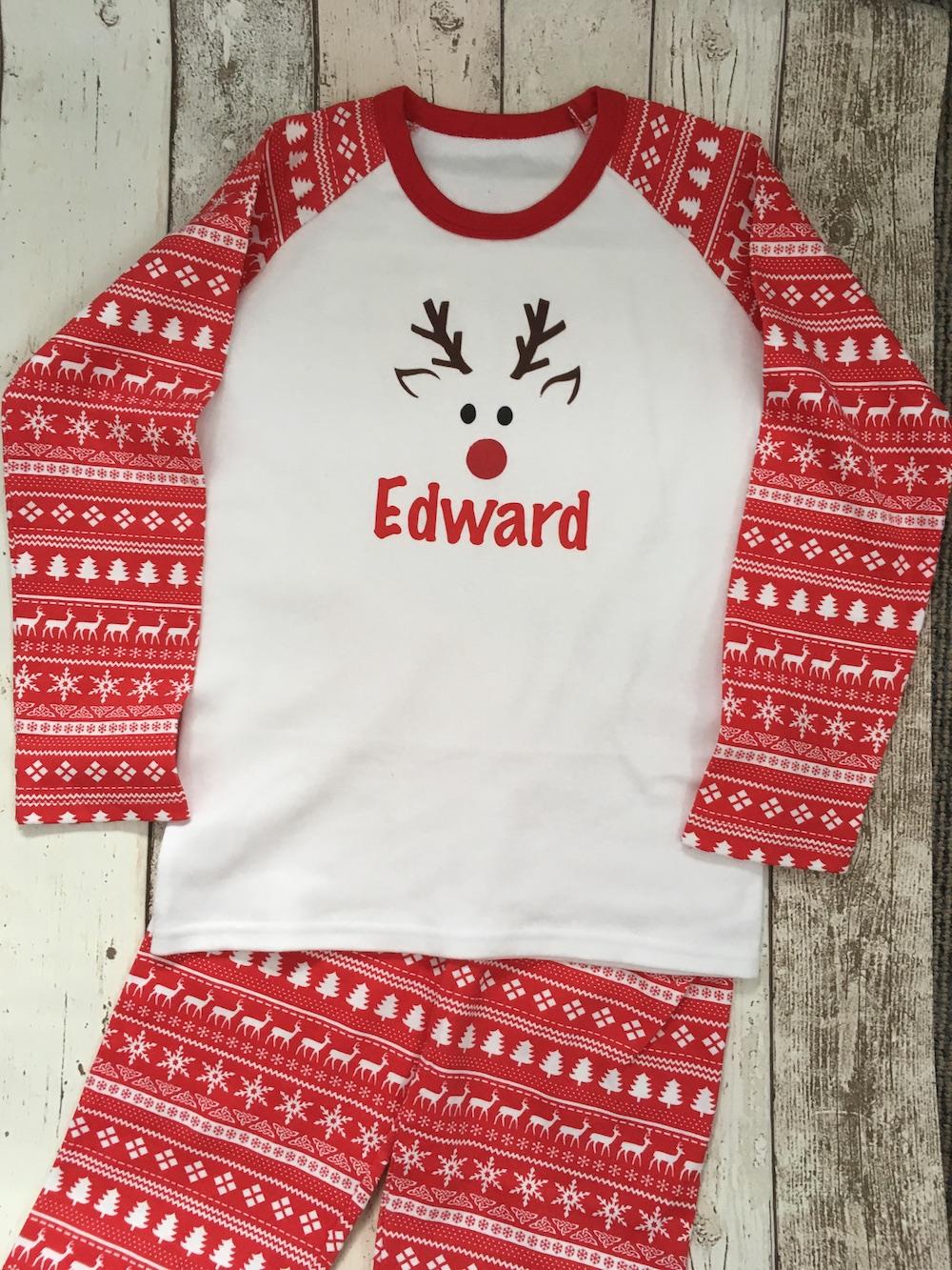 Rudolph Christmas Pyjamas