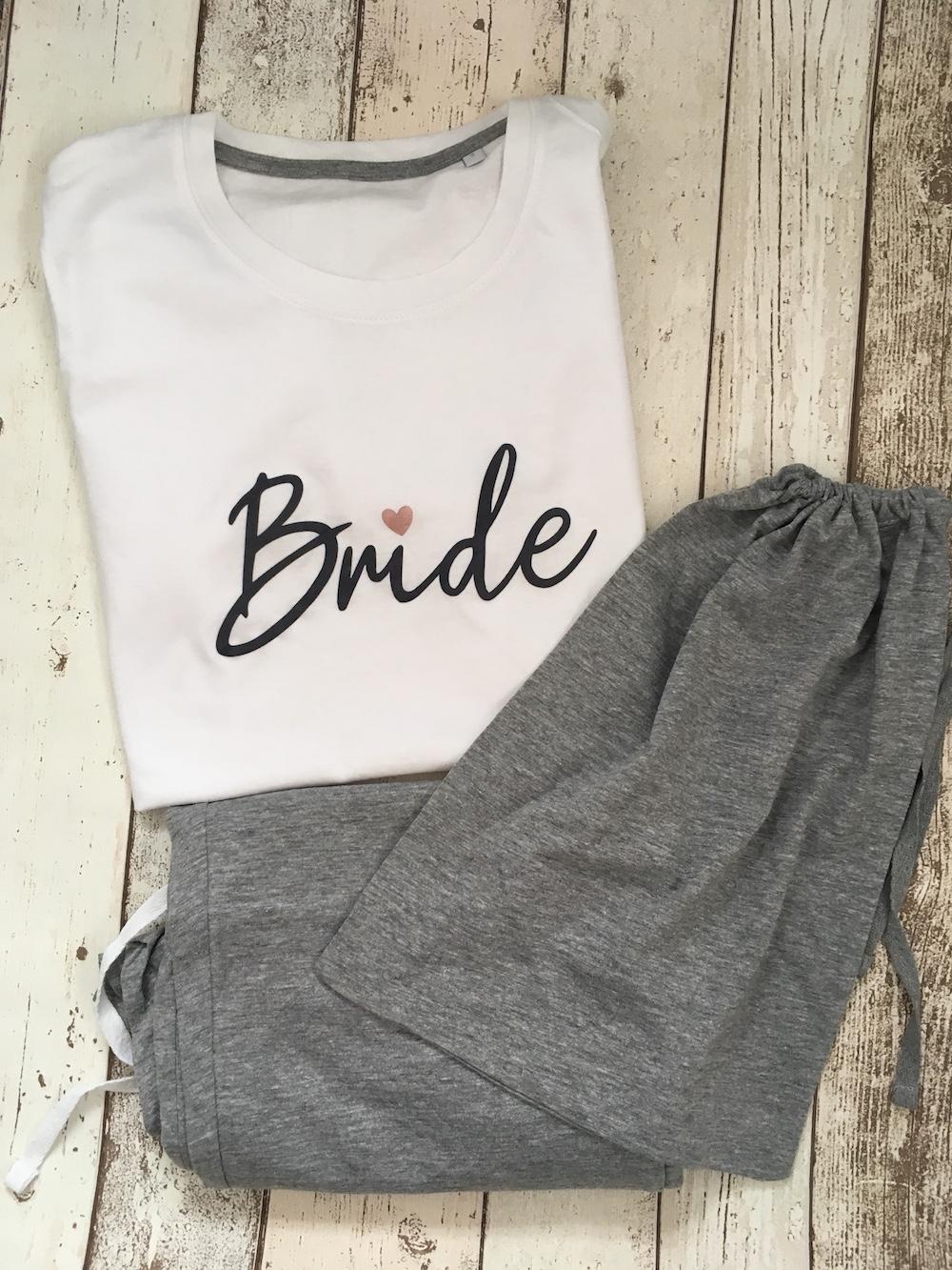 Womens Pyjamas – Bride – Size Small