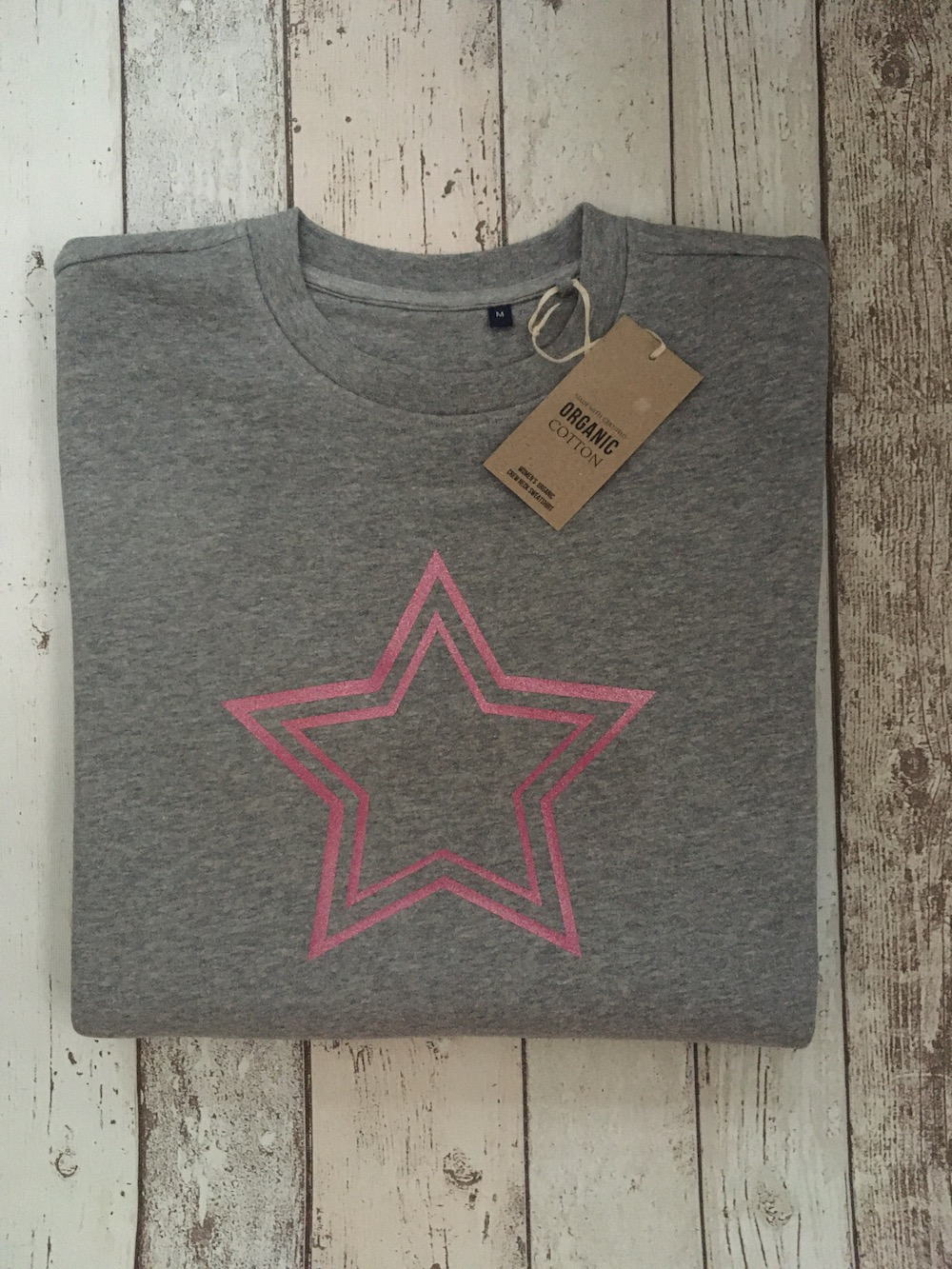 Super Soft Double Star Sweatshirt – Grey