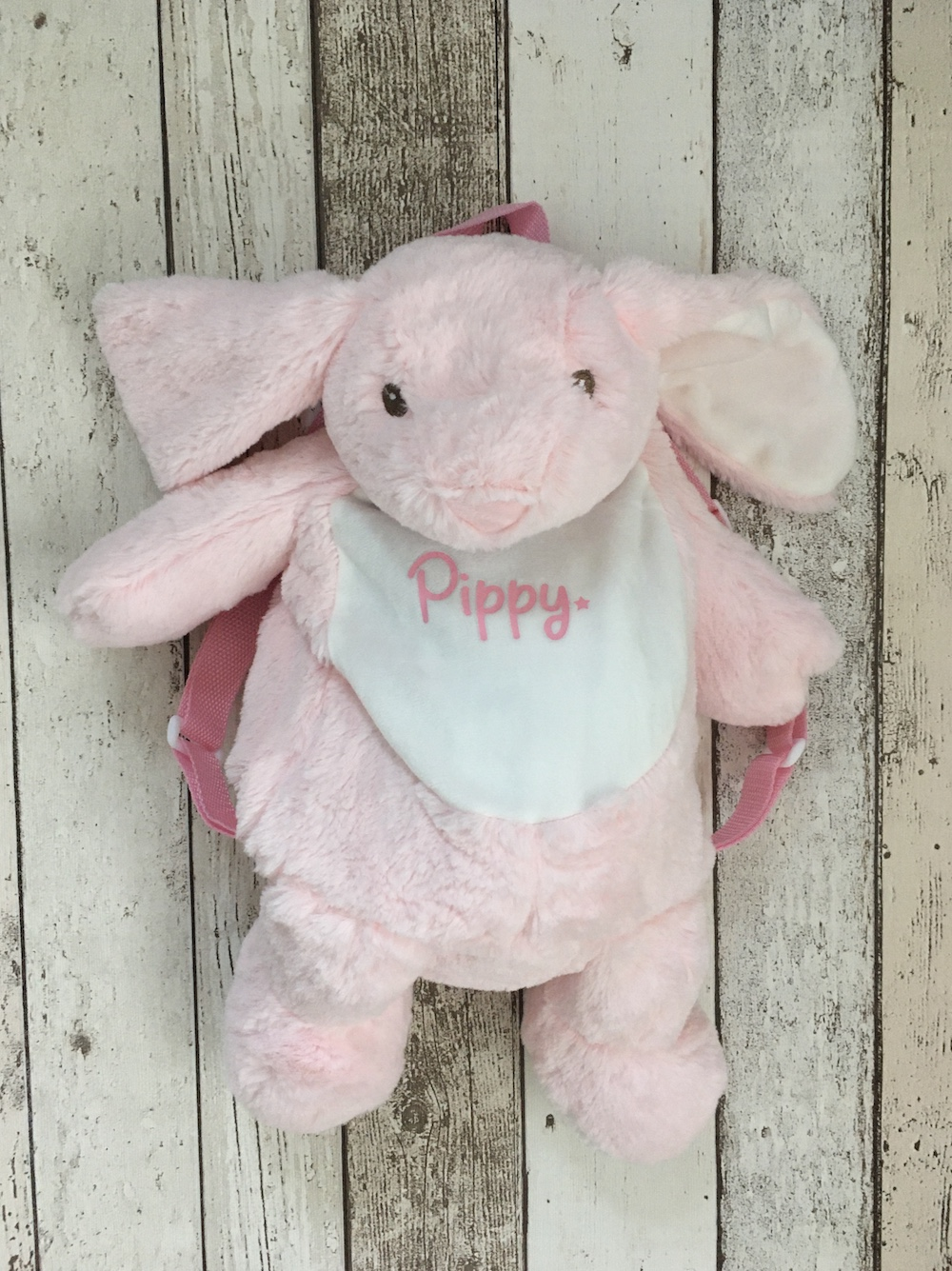Soft Bunny Personalised Rucksack