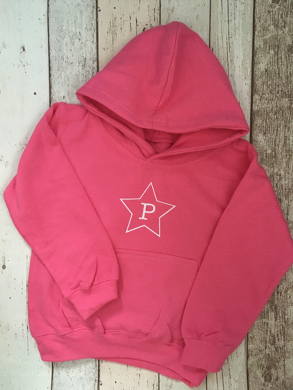 Initial Star Hoodie – CANDYFLOSS