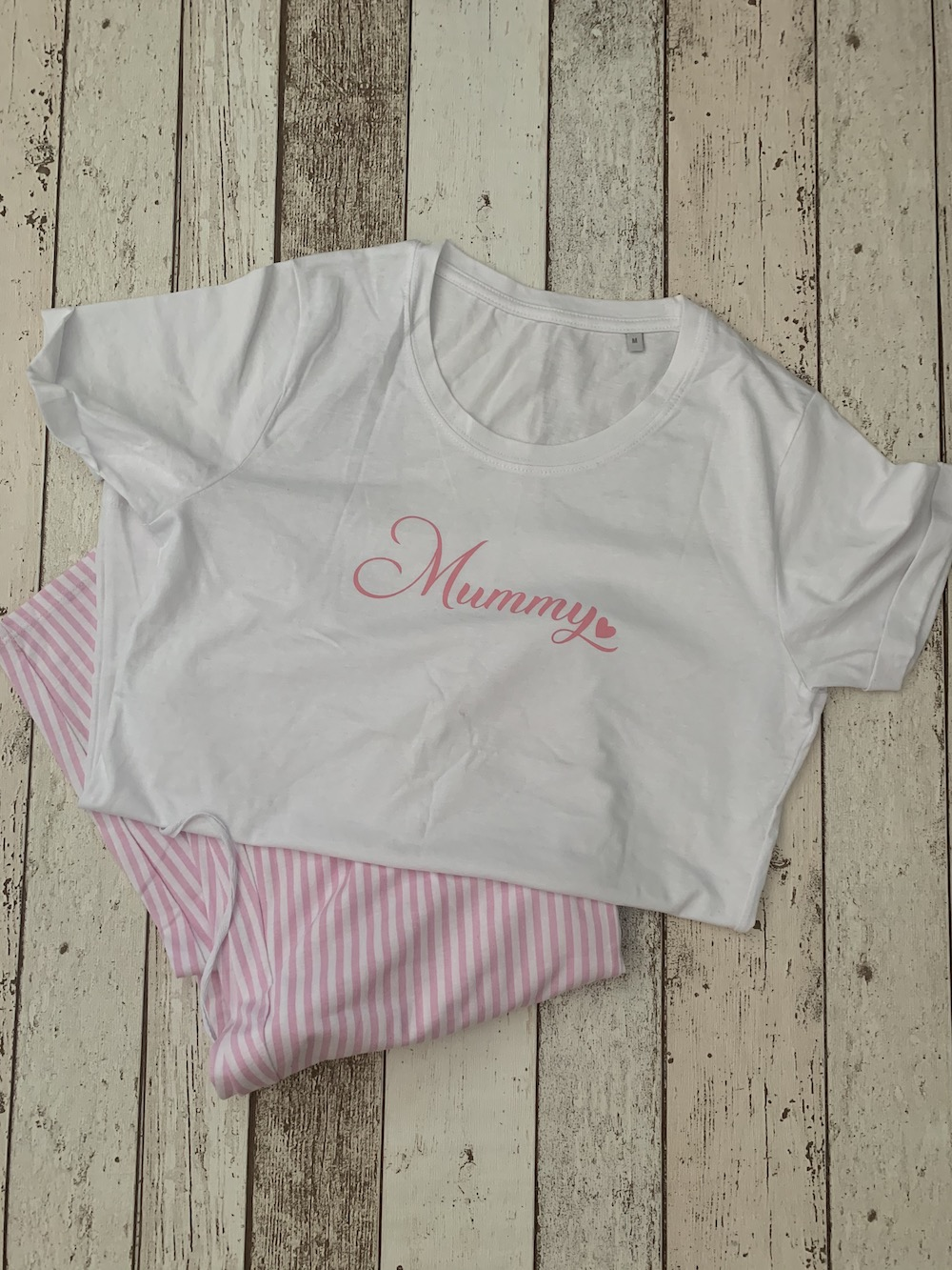 Mama Pyjamas – Pink Stripe