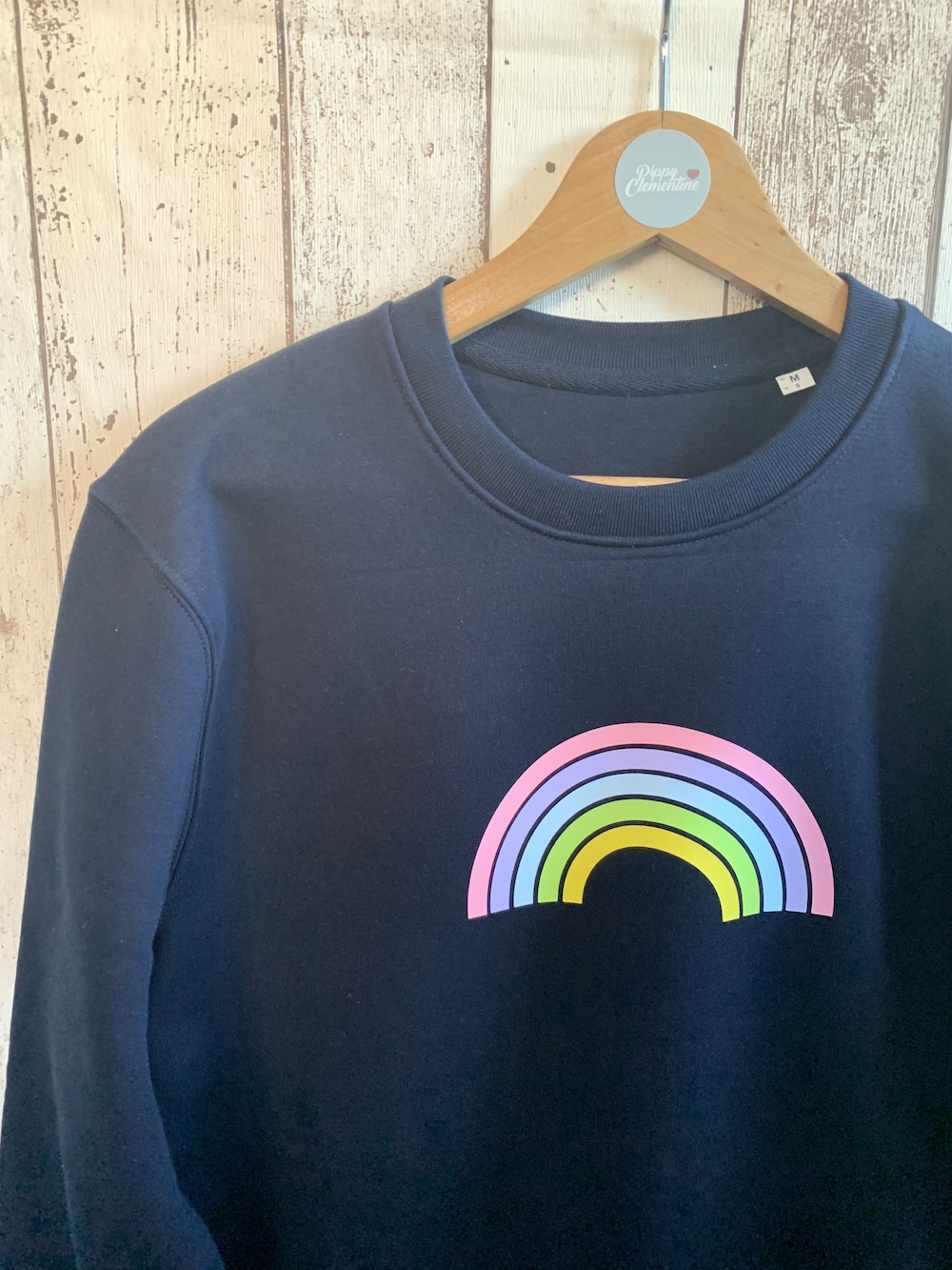 Rainbow Super Soft Sweatshirt – Navy