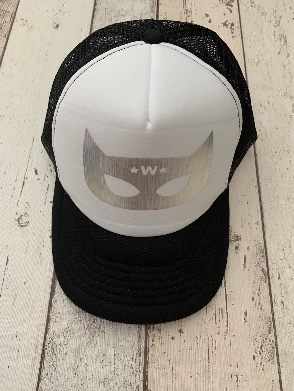 Personalised Superhero Cap – Black