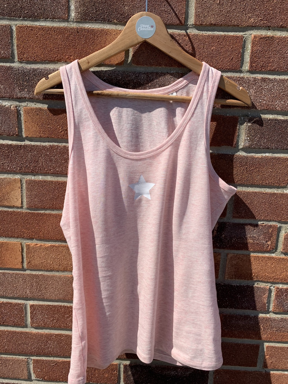 Star Vest – Pink And White