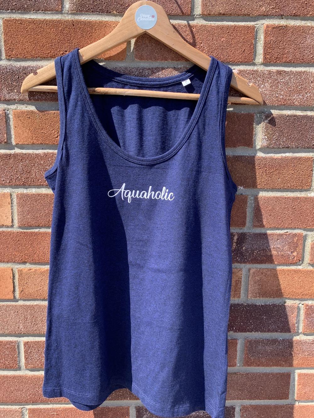 Aquaholic Vest – Navy