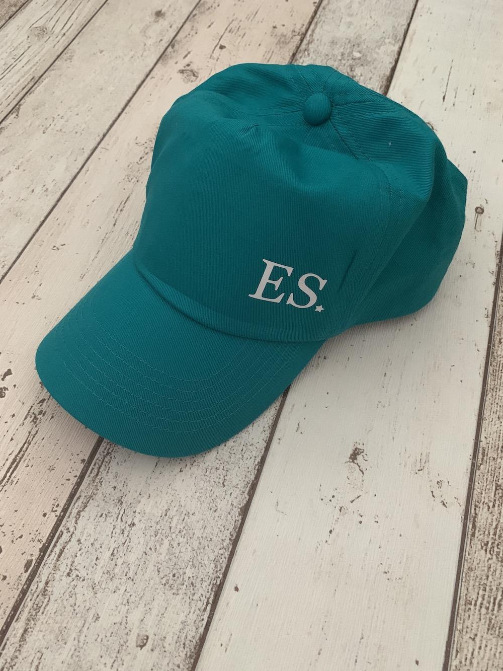 Personalised Initials Cap – Green