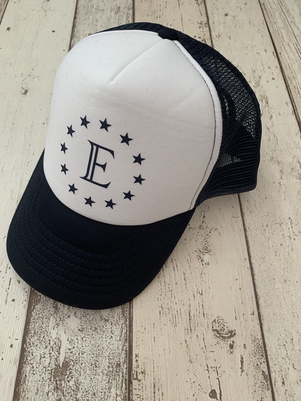Personalised Star Cap – Navy