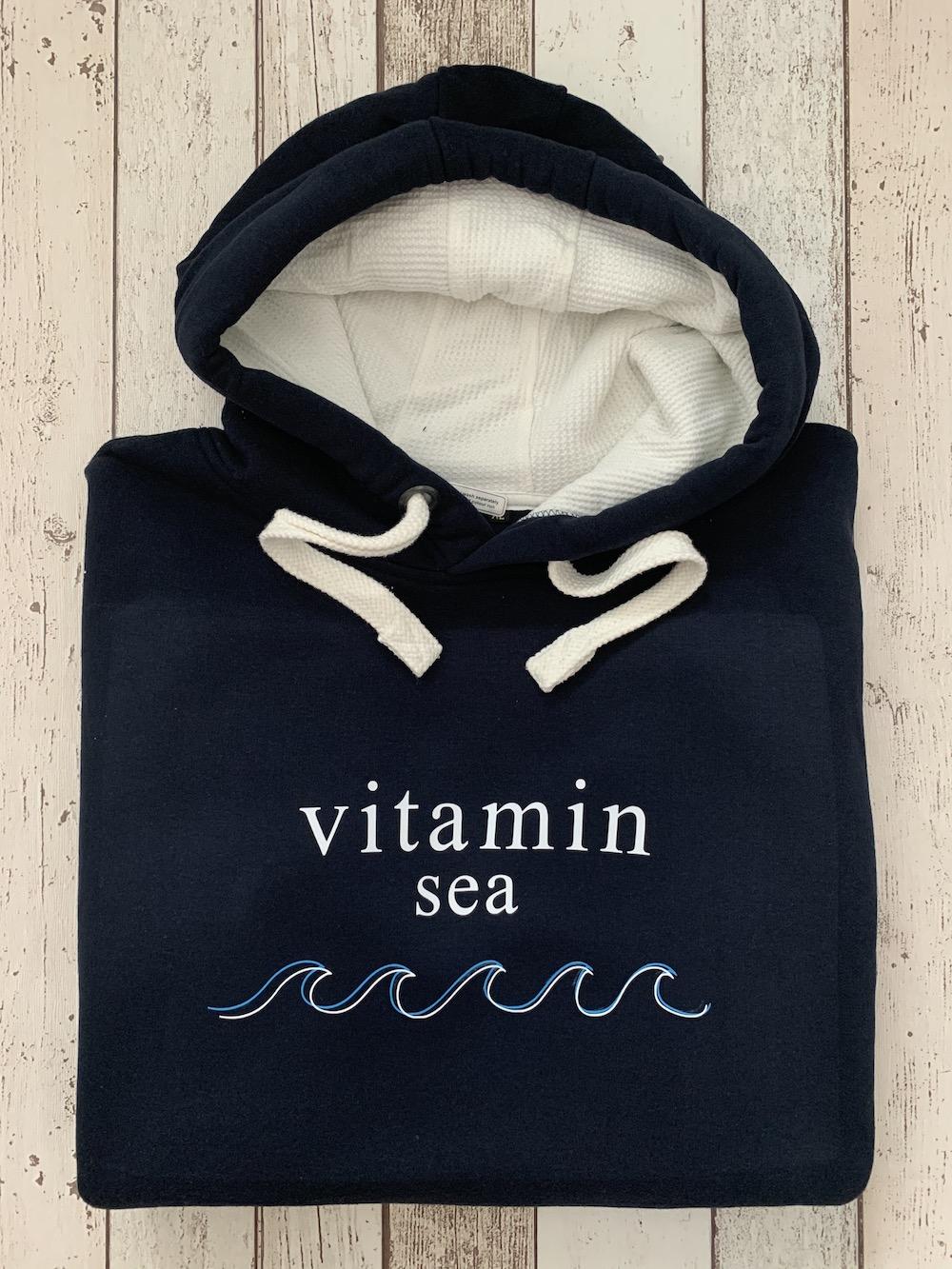 Supersoft Hoodie Vitamin Sea – Navy