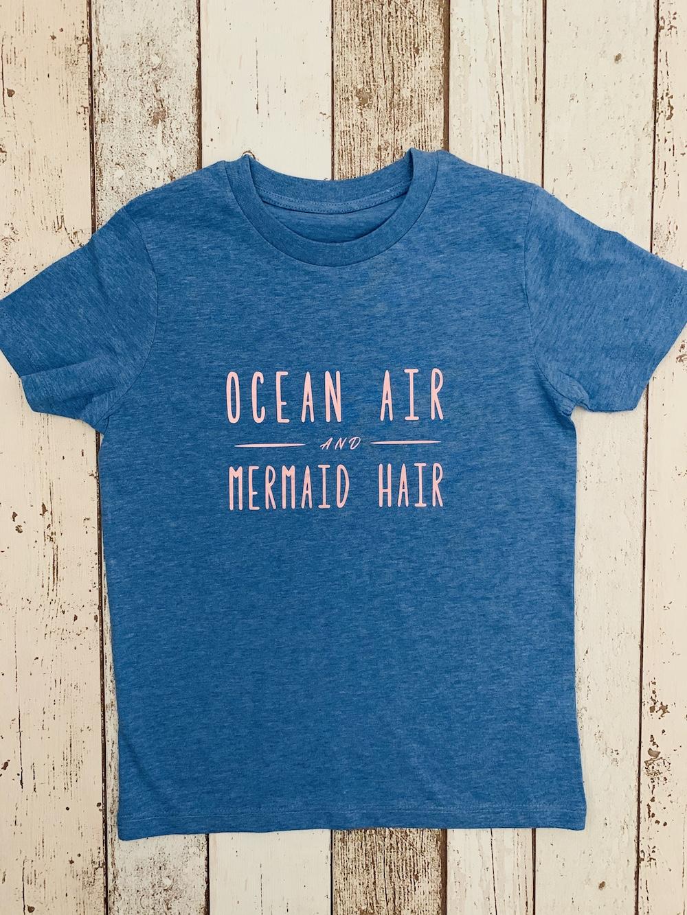 Ocean Air – Blue And Rose Gold