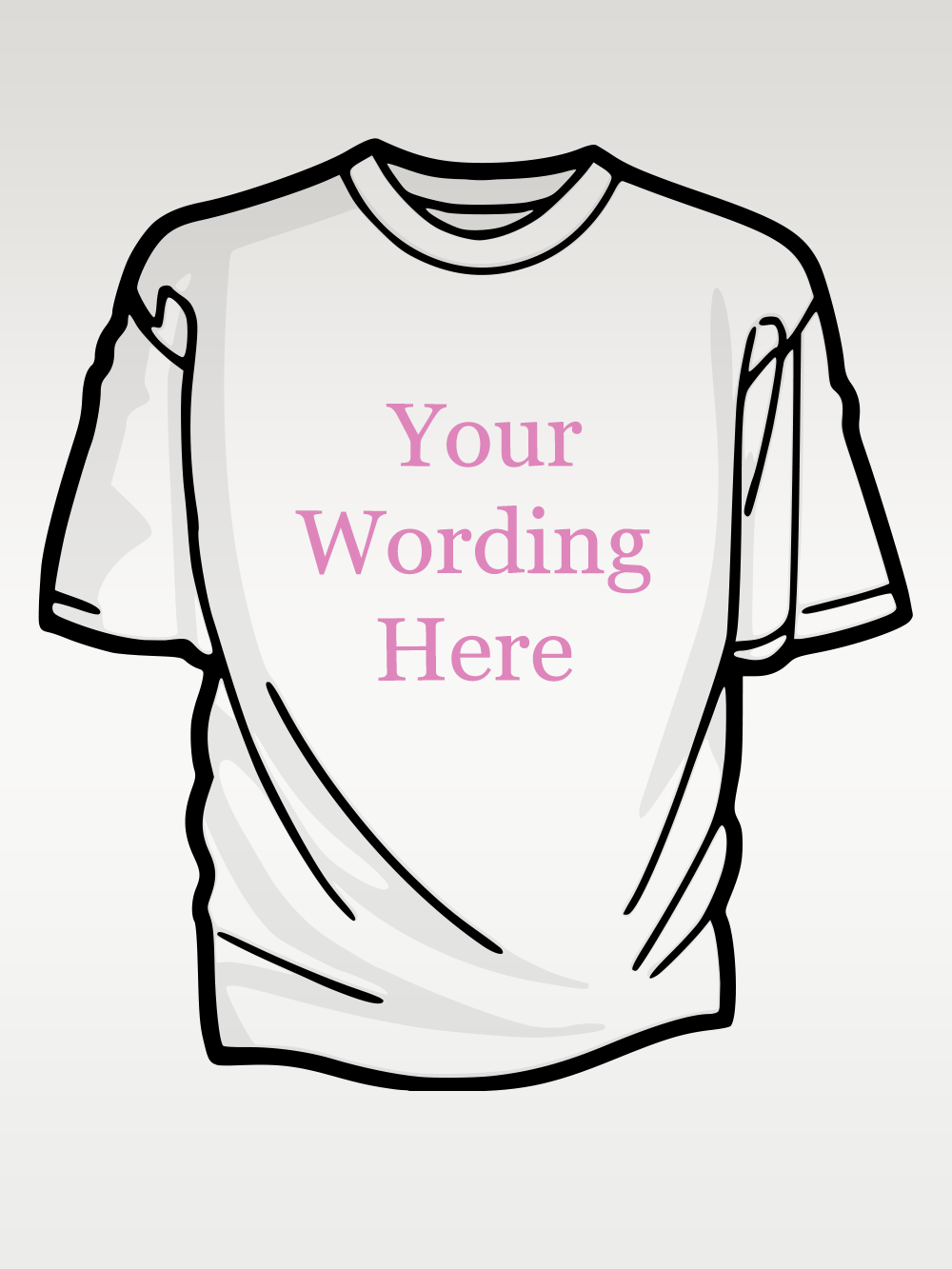 Your Design – Slouch White Womens Tshirt