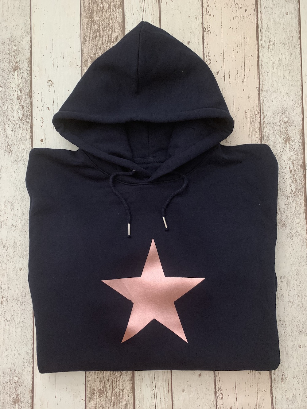 ORGANIC – Solid Star Hooded Jumper