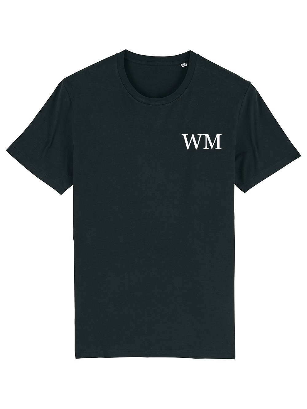 Mens Initial Tshirt – Black