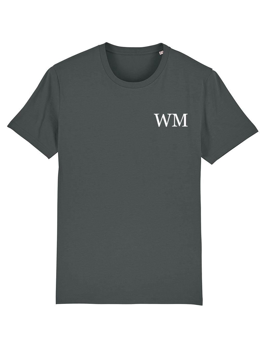 Mens Initial Tshirt – Grey