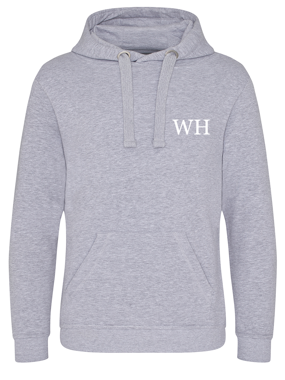 Mens Initial Hooded Jumper – Grey